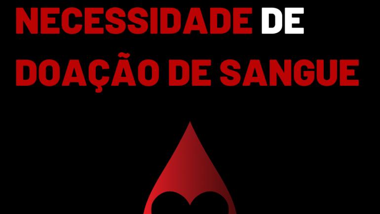 Banco de Sangue de Sertãozinho necessita de doações de todos os tipos sanguíneos
